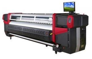 Сольвентный принтер