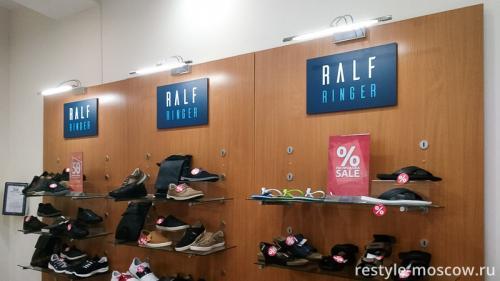 Оформление магазина обуви