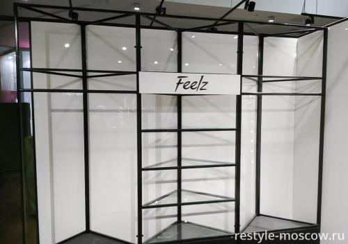 Выставочный стенд из металла