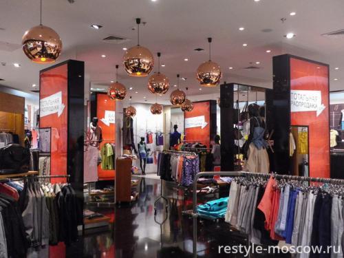 Световые короба для магазина одежды