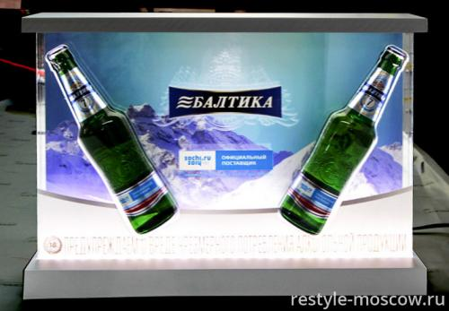 Балтика - оформление магазина